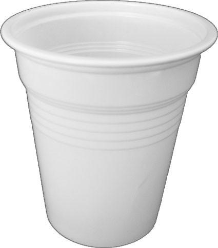 Ausschankbecher 100 ml weiß (2036)