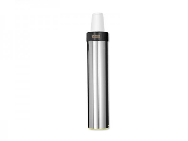 Becherspender für Papier + Kunststoffbecher, vertikale Oberflächenmontage, Becher Ø101-124 mm (1 Stü