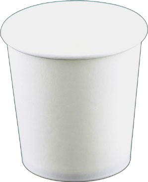 Laborbecher Hartpapier 100 ml weiß (220310)