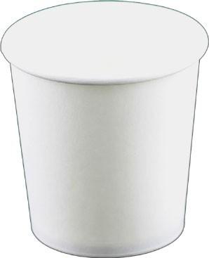 Laborbecher Hartpapier 100 ml weiß (220310)