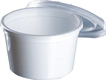 FK-Becher ohne Deckel 30 ml weiß (8x250 Stk.)