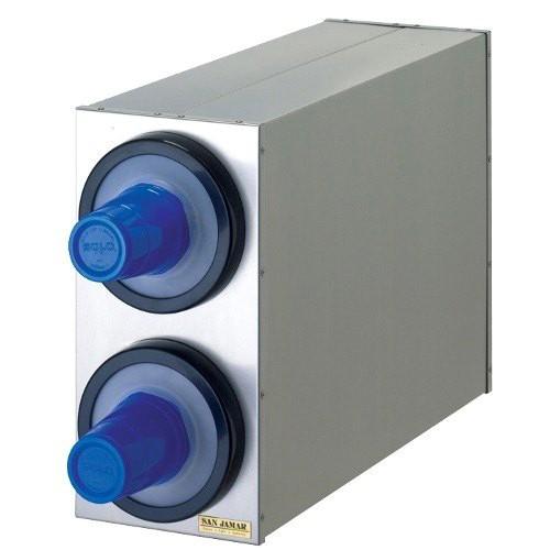 EZ Fit Edelstahl Becherspender Boxsystem, 2x C2410C Ø 73-121 mm (1 Stück)