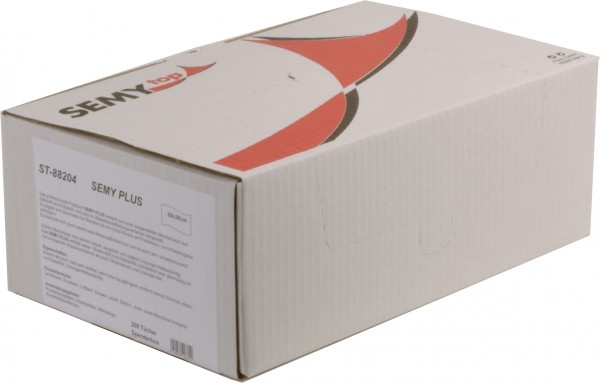 Semy Plus Spenderbox 29x38 cm, türkis (6x200 Tücher)