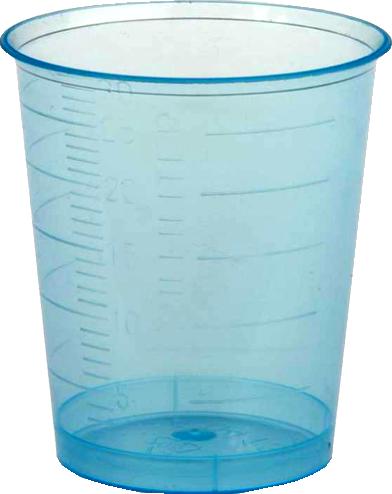 Medizinbecher 30 ml blau (2034267)