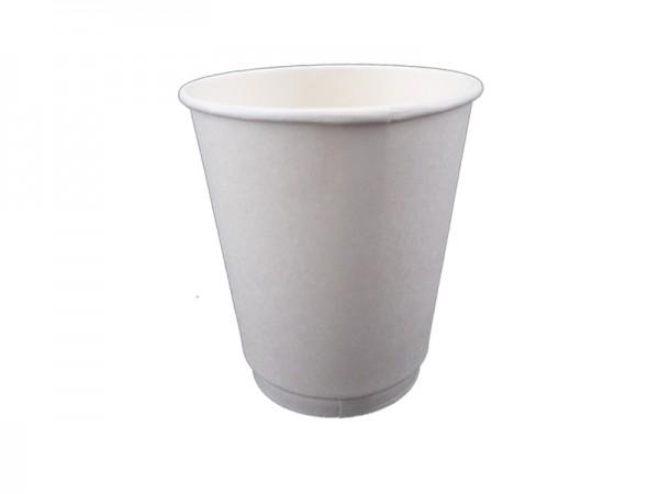 Becher Laborbecher Hartpapierbecher 200 ml 8 oz weiß (840 Stk.)