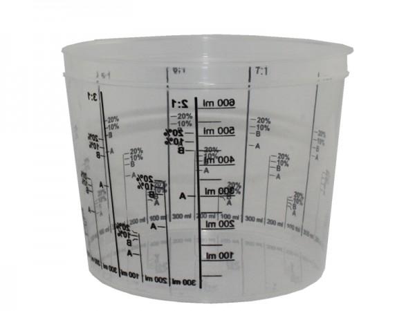 Mischbecher Lackmischbecher 750 ml (1x200 Stk.)