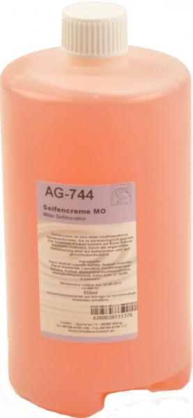 Flüssigseife in M Kartuschen, silikonfrei, seifenfrei, 1.000 ml (6 Stück)