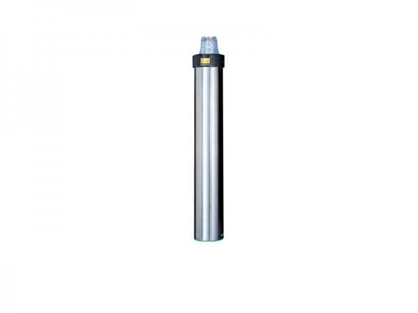 Becherspender für Papier und Kunststoffbecher, Oberflächenmontage, Becher Ø 56-81 mm (1 Stück)