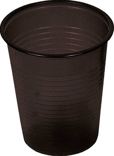 Mundspülbecher schwarz 180 ml (09034-SCH)