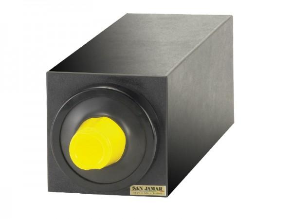 EZ Fit Becherspender Boxsystem, 1x C2410C, mit schwarzen Blendenringen für Becher Ø 73-121 mm