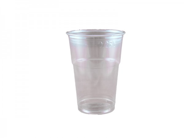 Mundspülbecher Laborbecher Probenbecher klar 250 ml (25x50 Stk.)