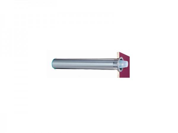 Becherspender für Papier + Kunststoffbecher, horizontaerl Einbau, Rand Ø 56-81 mm (1 Stück)