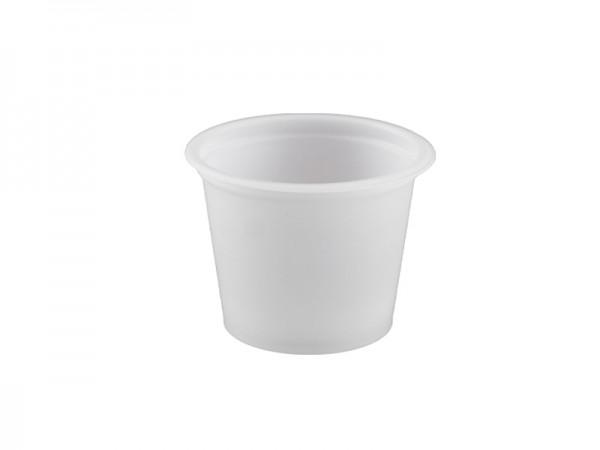 Portionsbecher 30 ml milchig weiß (10x250 Stk.)
