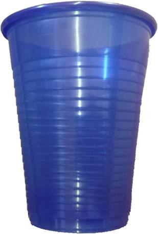Mundspülbecher blau 180 ml (17184)