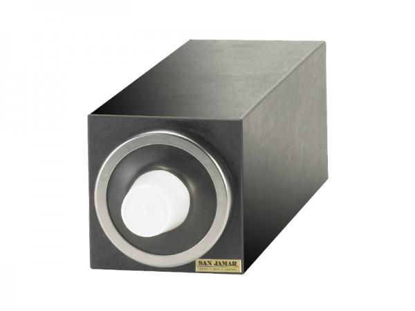 EZ Fit Becherspender Boxsystem, 1x C2410C, mit metallfarbenen Blendenringen für Becher Ø 73-121 mm
