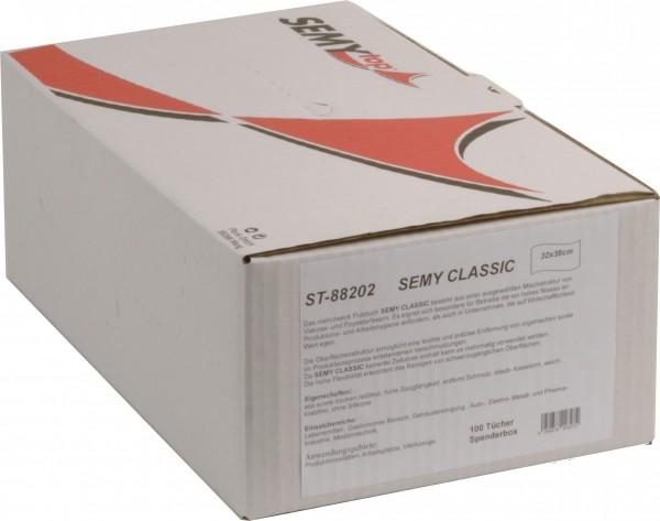 Semy Classic Spenderbox 32x38 cm, weiß (6x100 Tücher)