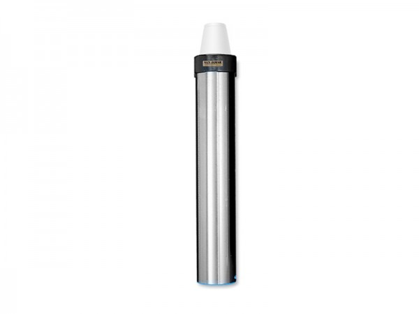 Becherspender für Papier + Kunststoffbecher, vertikale Oberflächenmontage, Becher Ø 70-98 mm (1 Stüc
