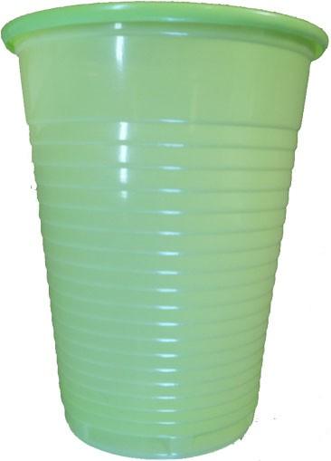 Mundspülbecher limette 180 ml (09034-LIM)
