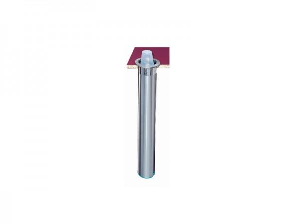 Becherspender für Papier + Kunststoffbecher, vertikaler Einbau, Rand Ø 56-81 mm (1 Stück)