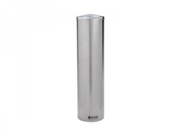 Edelstahl Becherspender Wasserbecherspender, für Becher mit Ø82-98 mm Wandmontage (1 Stück)