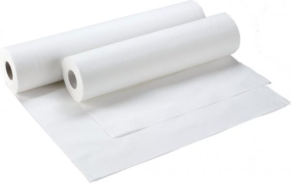 Abdeckrollen für Untersuchungsliegen 2-lagig, 50x38 cm, weiß (9 Rollen)