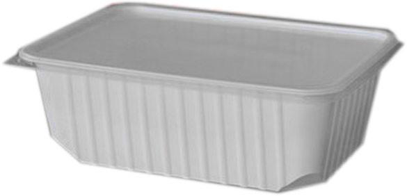 Unibox 750 ml weiß ohne Deckel (77911)