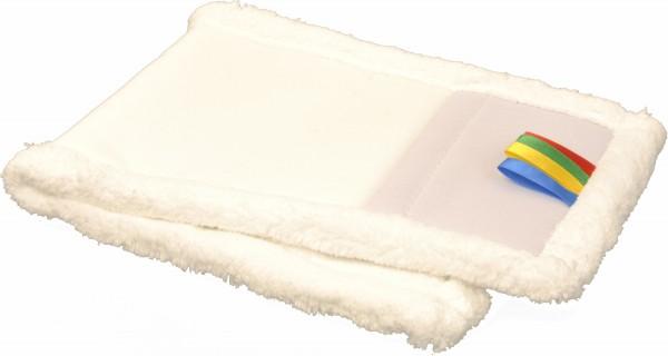Wischmop Mikrofaser mit Borsten, weiß (50 Stück)