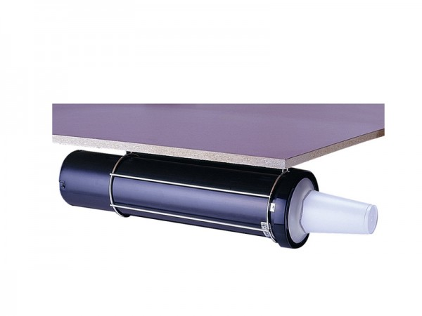 EZ-Fit Becherspender, Papier, Plastik, Styropor, Ø73-98 mm 457 mm lang Oberflächenmontage (1 Stück)