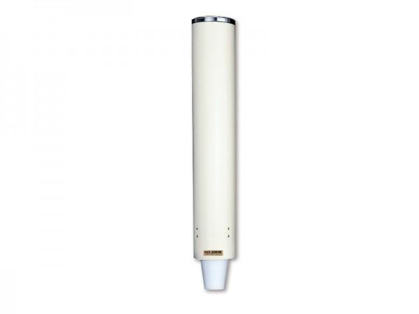 Becherspender für Styroporbecher, für Becher mit Ø82-98 mm, sand Wandmontage (1 Stück)