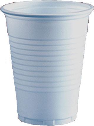 Ausschankbecher 200 ml weiß (2554)