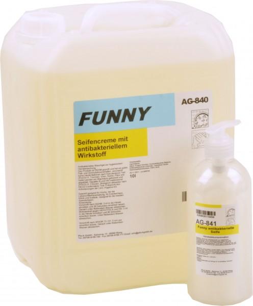 Antibakterielle Seife frei von Duft- und Farbstoffen