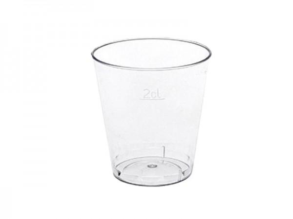 Probierbecher Pillenbecher Medikamentenbecher Schnapsbecher 2 cl (50x20 Stk.)