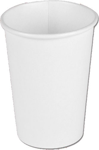Laborbecher Hartpapier 180 ml weiß (PC17W)
