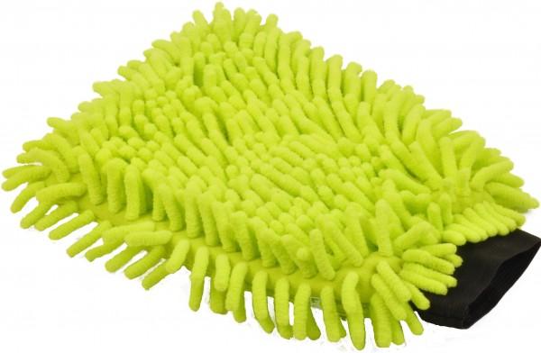 Mikrofaser Handschuh 16x24 cm, grün (50 Stück)