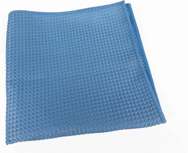 Mikrofaser Waffeltücher 40x40 cm, blau (200 Stück)