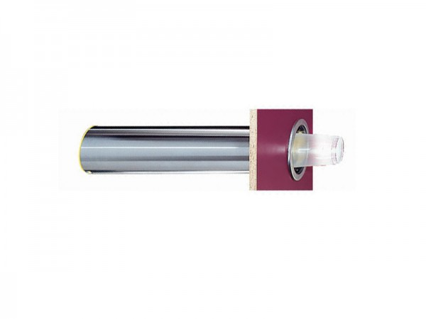Becherspender für Papier + Kunststoffbecher, horizontaler Einbau, Becher Ø101-124 mm (1 Stück)