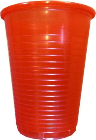 Mundspülbecher rot 180 ml (28612)