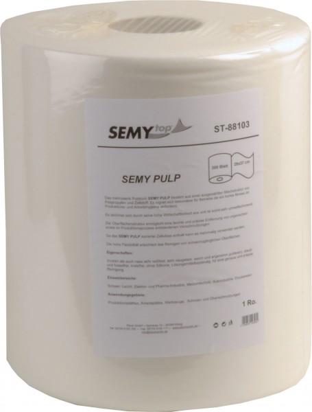 Pulp Putztuchrolle 29x37 cm, weiß (1 Rolle)