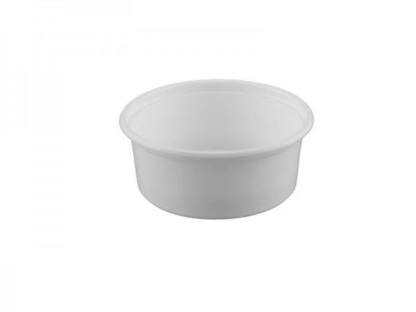 PP-Verpackungsbecher 200 g rund weiß (20x50 Stk.)