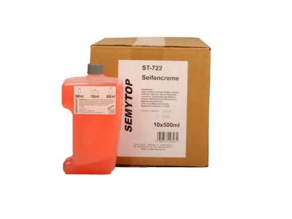 Flüssigseife Cremeseife in Kartuschen, 500 ml, rosa (12 Stück)