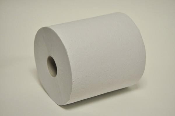 Handtuchrolle Innenabwicklung 2-lagig, 20x26 cm, Ø 19 cm, weißlich