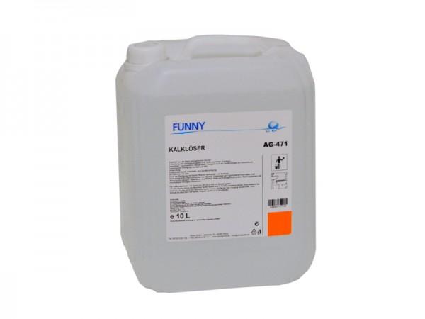 Bio Kalklöser schaumlos parfümfrei 10 l (1 Kanister)