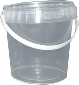 Behälter mit Bügel und Deckel 1180 ml (1180DH)