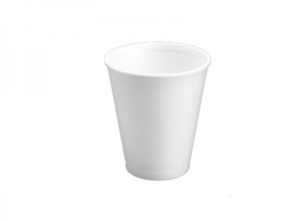 Styrobecher 12 oz 0,3 weiß (20x50 Stck)