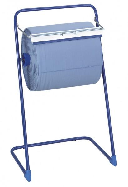 Bodenständer für Rollen bis 40 cm, blau Handtuchrollenspender (1 Stück)
