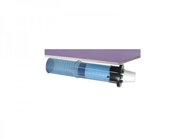 Euro Sentry Becherspender, Papier, Plastik, Styropor Becher mit Ø 62-92 mm, Oberflächenmontage