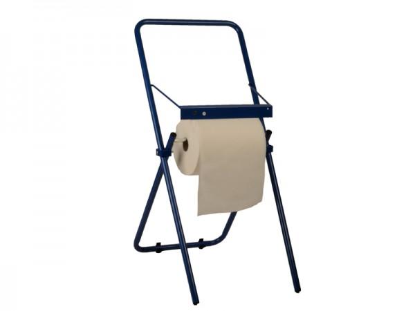 Bodenständer für Rollen bis 30 cm, blau Handtuchrollenspender (1 Stück)