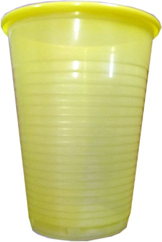 Mundspülbecher gelb 180 ml (09034-G)