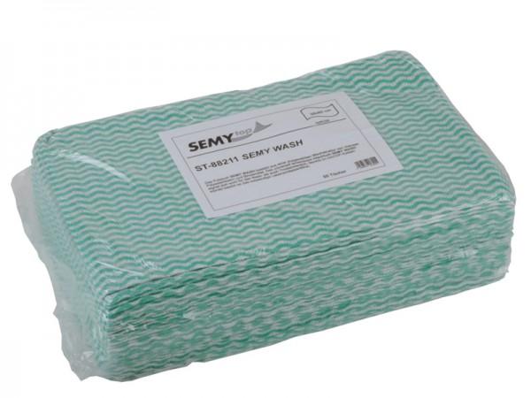 Wash Spenderbox 38x60 cm, grün (6x50 Tücher)