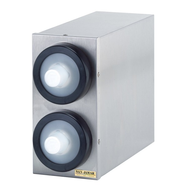 Portion Cup EZ Fit Edelstahl Becherspender Boxsystem, 2x C2010C Ø 38-59 mm (1 Stück)
